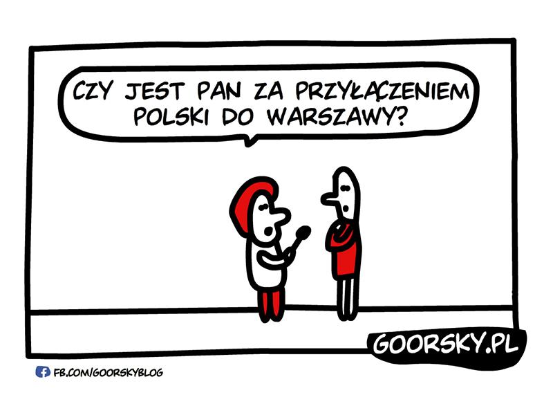 Pytanie o Warszawę
