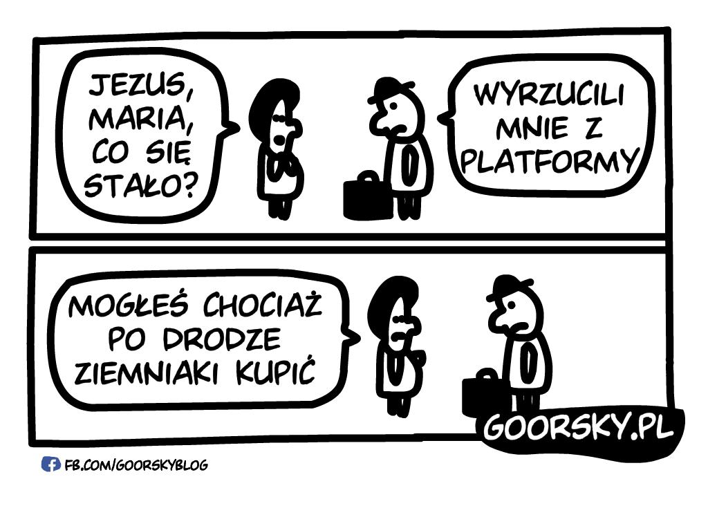 Wyrzucony z Platformy
