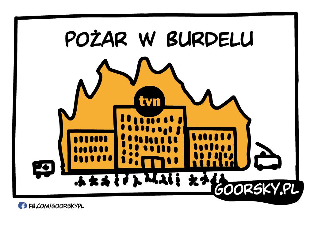 Pożar w burdelu