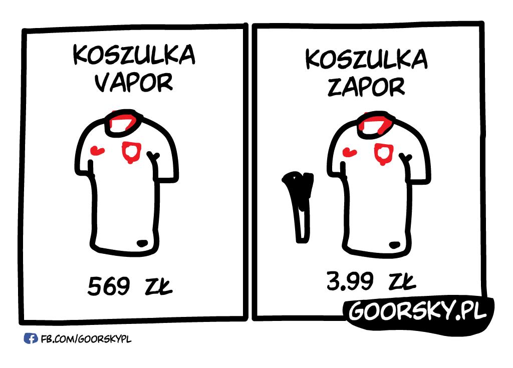 Cena koszulki