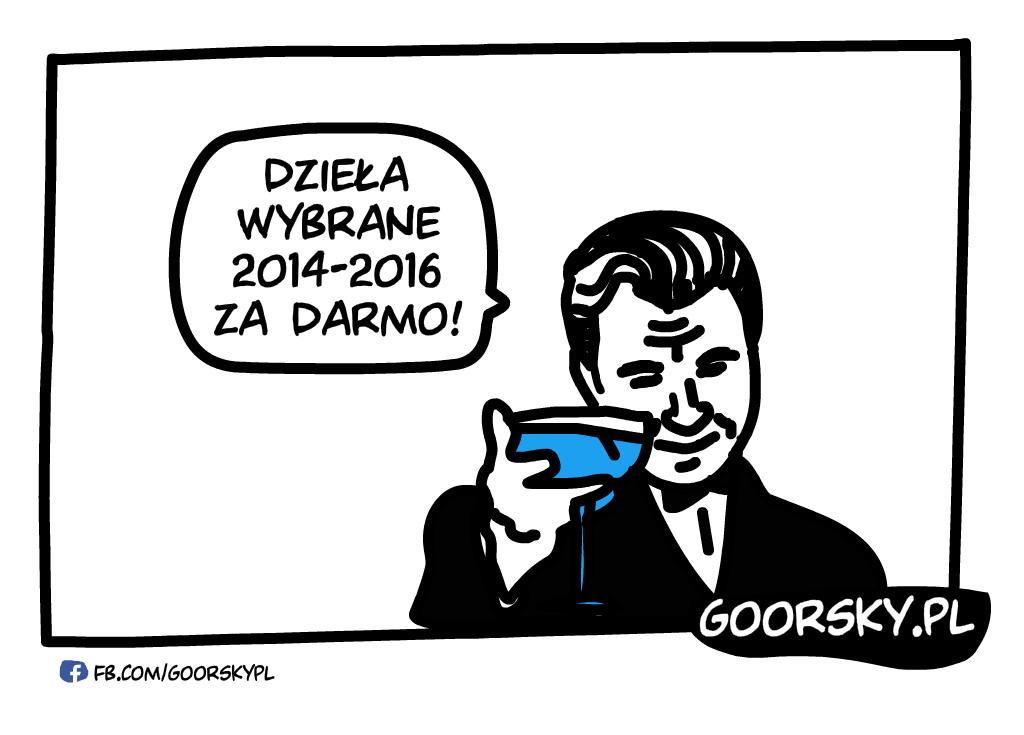 Dzieła wybrane 2014-2016