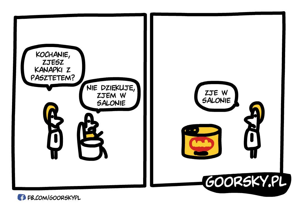 Kanapka z pasztetem