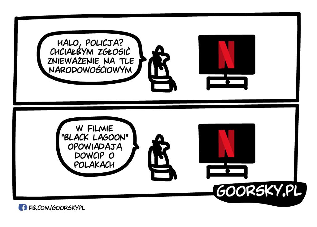 Netflix dowcip