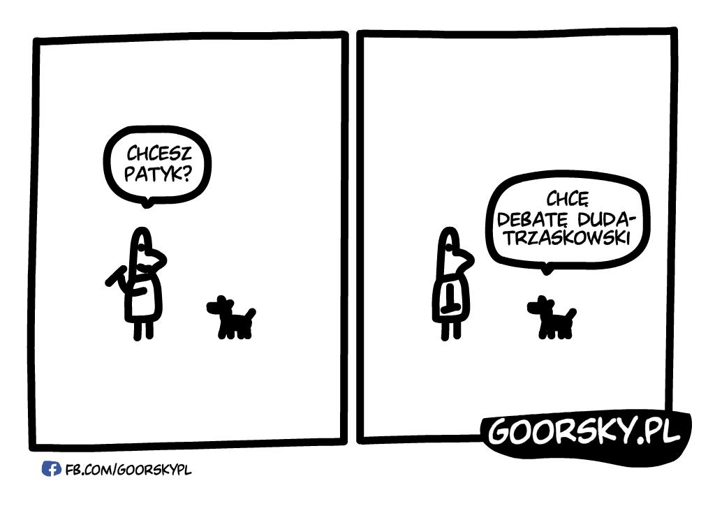 Debata Duda-Trzaskowski