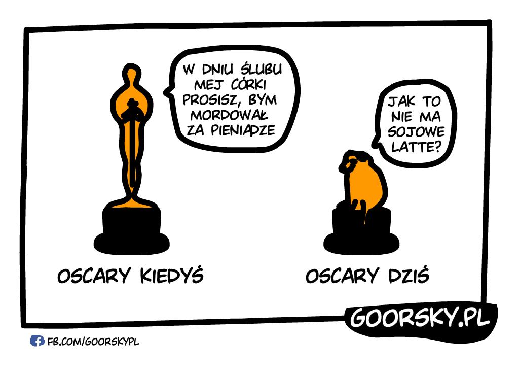 Oscary kiedyś