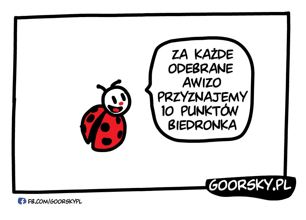 Biedroka współpracuje z Pocztą Polską